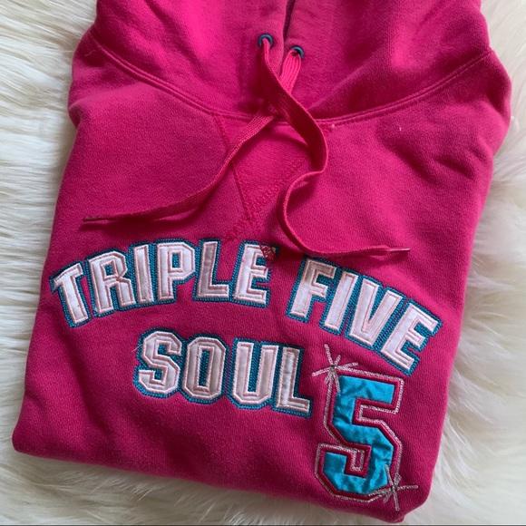 Triple Five Soul Hot Pink Hoodie